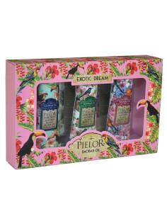 Coffret Creme de Mãos 3x30ml - Exotic Dream - Rosa - Pielor | Pielor