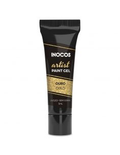 Paint Gel Artist Dourado 5ml Inocos | Inocos