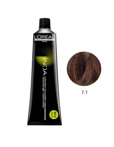 Inoa 7.1 Louro Cinza 60g L'Oreal Profissional | L'Oreal Professionnel INOA
