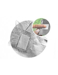 50 Bandas removedoras de Verniz Gel (Pratas) | Descartáveis Manicure/Pedicure