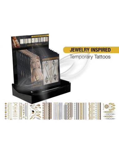 Tatuagens Temporárias Jewelry Inspired Desc