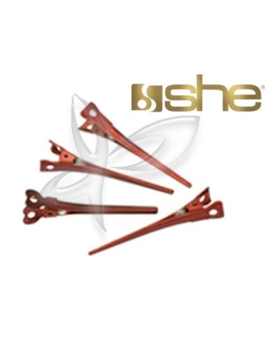 Pinças anti-deslizantes com ponta de aluminio SHE