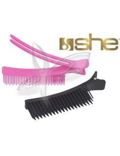 Pinças especiais para o cabelo she - 2 Peças  
