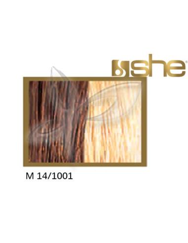 Extensões lisas (cm55/60) com adesivo cores com madeixasSHE EXTENSÕES