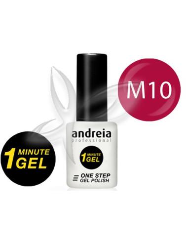 Verniz Gel 1 Minute M10  Verniz Gel 1 Minute  Andreia Higicol