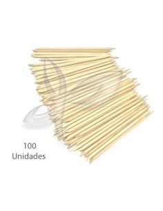 100 Paus Laranjeira - 12 cm Material de Manicure