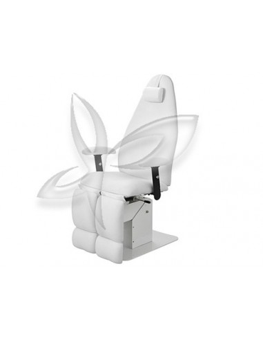 Cadeira Podologia Extens Eléctrica 1 Motor Cadeiras e Carrinhos de Manicure e Pedicure