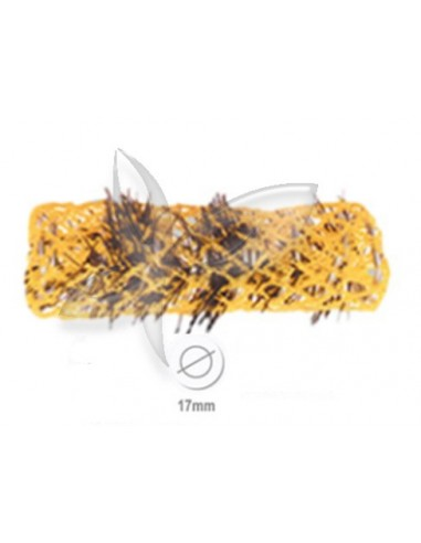 12 Rolos Mise - Amarelo - 17mm