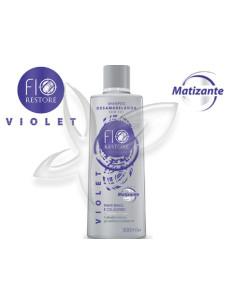Shampoo Anti-Amarelos 300ml - Violet - Fio Restore   Linha Violet