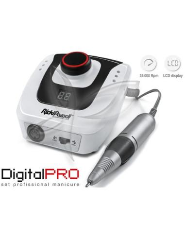Micromotor Digital PRO 35000 RPM - Ricki Parodi Micromotor para Unhas Ricki Parodi