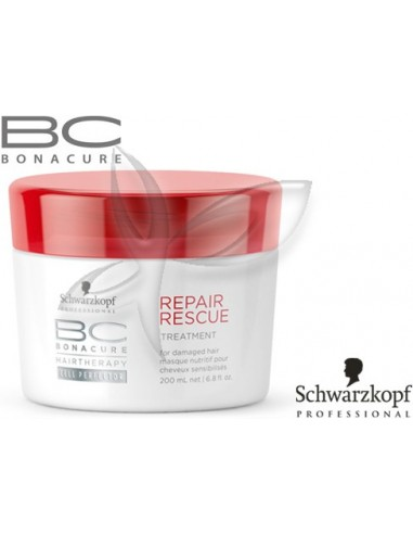 Máscara Repair Rescue 200ml Bonacure Schwarzkopf  Repair Rescue