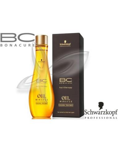 Óleo de Cuidado Finalizante Ligeiro- Oil Miracle - 100l Bonacure Schwarzkopf lim | Oil Miracle