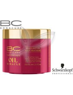 Máscara Quente Brazilnut Oil Miracle 150ml Bonacure Schwarzkopf |