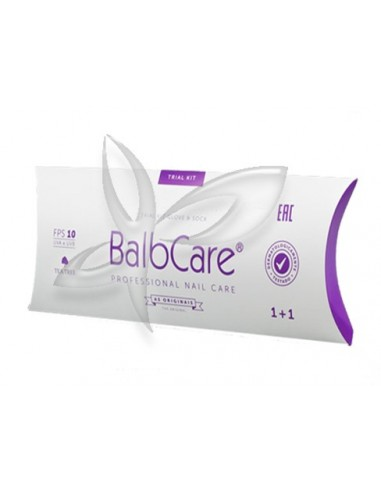 Trial Kit BalbCare (1 manicure + 1 pedicure) - BalbPharm Institute Descartáveis Manicure/Pedicure