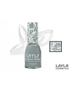 Verniz Graffiti Effect 18 10ml Layla Desc | Layla Graffiti Effect