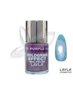 Verniz Hologram 06 Mermaid Spell 10ml Layla desc | Manicure e Pedicure
