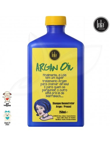 Lola Champô Reconstrutor Argan Oil 250ml