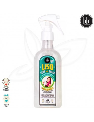 Lola Spray Anti Frizz - Liso, Leve e Solto 200ml Lola  Lola