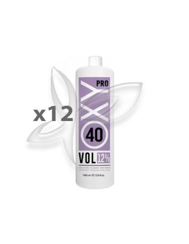 12 Oxidantes Perfumados 40Vol 1000ml - OxyPro - Kay Oxidantes / Descolorantes