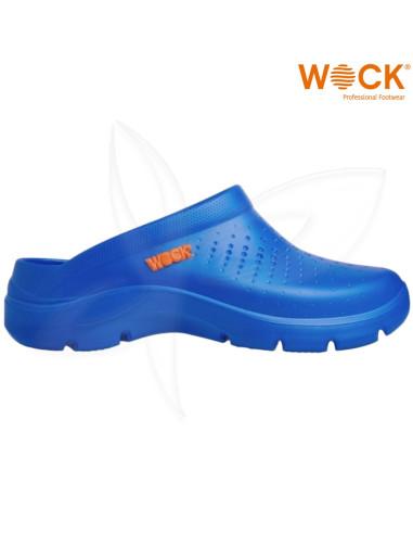 Soca Wock FlowAzul Calçado Profissional Wock Calçado Profissional  WOCK