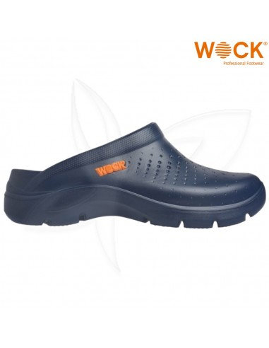 Soca Wock FlowAzul Marinho Calçado Profissional Wock Calçado Profissional  WOCK