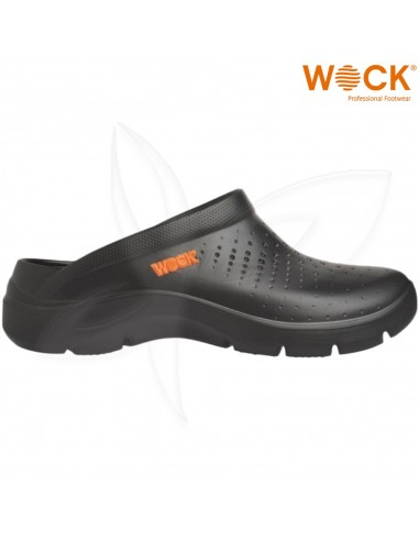 Soca Wock FlowPreto Calçado Profissional Wock Calçado Profissional  WOCK