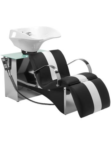 Rampa de Lavagem Elegance c/ pousa-pés eléctrico Rampa de Lavagem ACB Mobiliário