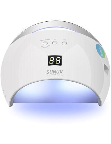 Lâmpada LED/UV 48W SUN6S Branca Catalisador Led Unhas | Lampadas UV
