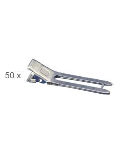 Pack 50 Pinces Duplas Pequenas desc | Frizetes | Ganchos | Molas