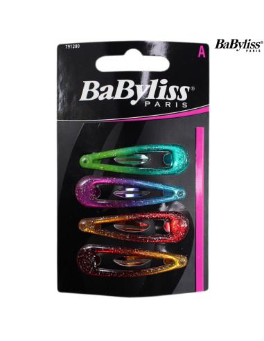 Pack 4 Ganchos - Babyliss desc Frizetes, Ganchos, Molas, entre outros Babyliss