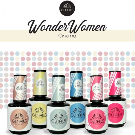 Verniz Gel 15ml Trinity Coleção Wonder Women - Gl Nails Verniz Gel   GLNAILS  Gl Nails