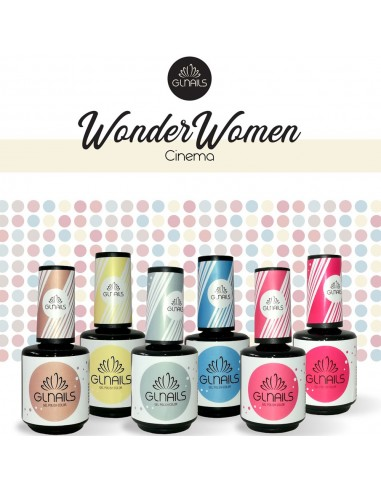 Coleção Wonder Women Verniz Gel 15ml Gl Nails Verniz Gel   GLNAILS  Gl Nails