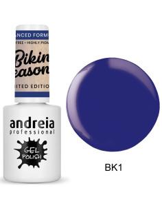 Verniz Gel BK1 - Azul Elétrico - Bikini Season - A