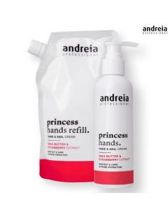 Creme Mãos Recarga 400ml - Princess Hands - Andreia Andreia Profissional Andreia Higicol