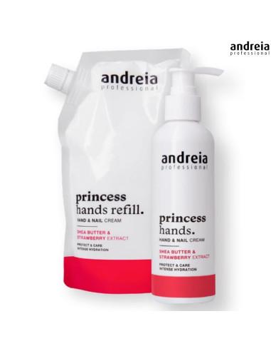 Creme Mãos Recarga 400ml  - Princess Hands - Andre