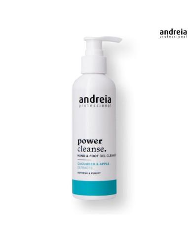 Gel Limpeza Mãos e Pés 200ml - Power Cleanse - Andreia Mãos e Pés Andreia Higicol