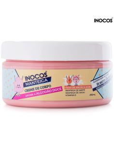 Manteiga Corporal Algodão Doce 200ml Inocos | Estética