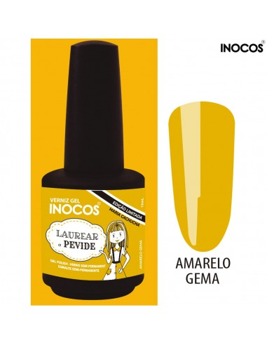 Laurear a Pevide Verniz Gel 15ml - Colecção Maria Cachucha - Inocos | INOCOS Verniz Gel
