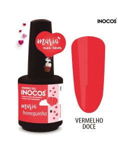 Maria Bonequinha Verniz Gel 15ml - Coleção Maria Meu Amor - Inocos | INOCOS Verniz Gel