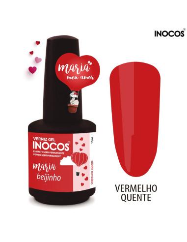 Maria Beijinho Verniz Gel 15ml - Coleção Maria Meu Amor - Inocos