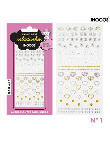 Nail stickers Inocos Coladinhos nº1 | INOCOS Nail Art