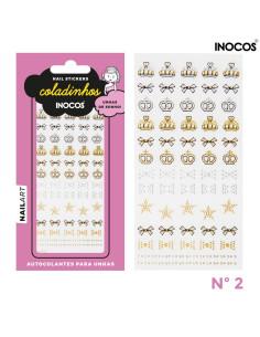 Nail Art - stickers Inocos Coladinhos nº2 | INOCOS Nail Art