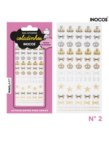 Nail stickers Inocos Coladinhos nº2 Nail Art Inocos Inocos