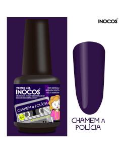 Chamem a Polícia Verniz Gel 15ml - Coleção Maria Variações - Inocos | INOCOS Verniz Gel