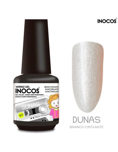 Dunas Verniz Gel 15ml - Coleção Maria Variações - Inocos Verniz Gel INOCOS Inocos