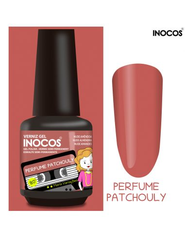 Perfume Patchouly Verniz Gel 15ml - Coleção Maria Variações - Inocos | INOCOS Verniz Gel