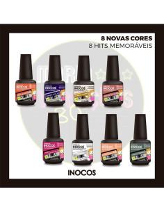 Colecção Verniz Gel 15ml - Maria Variações - Inocos Verniz Gel INOCOS Inocos