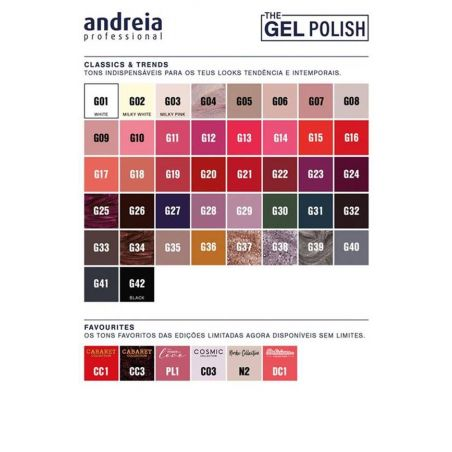 The Gel Polish Andreia - Classics & Trends - G26 | The Gel Polish Andreia