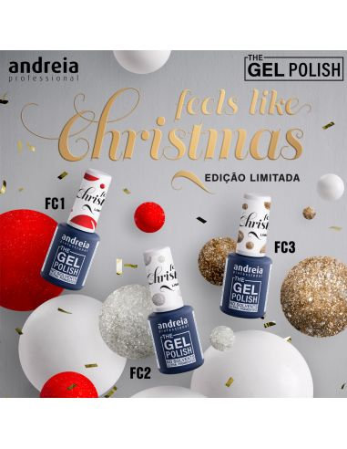 Coleção Feels Like Christmas - The Gel Polish Andr