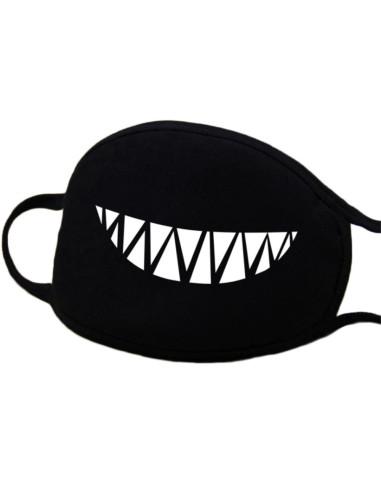 Máscara de Proteção em Tecido - Sorriso Maléfico DESC | Material de Manicure